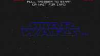 Eftersom Star Wars baserades på vektorgrafik kunde man packa in en hel del action på skärmen och ändå göra det spelbart på långsammare system. Nackdelen med grafiken var förstås att det inte var speciellt vackert att titta på. Men med en så pass stark licens som Star Wars var det lättare för konsumenterna att komma över detta.
