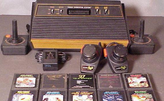 """""""Vi som satt med Atari 2600, C64, Amiga och Nes var en slags pionjärer vad det gäller spelande."""""""