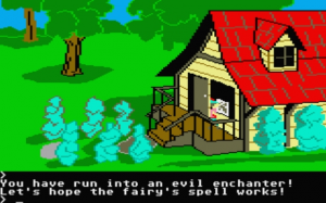 Kings Quest a la 80-tal.