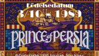 Jordan Mechners 'Prince of Persia' släpptes för första gången till en hugad spelvärld 3:e oktober 1989.