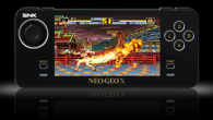 En av de senaste retrokonsollerna är NeoGeo X som levereras med 20 spel och en arkadjoystick.