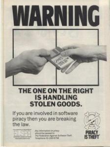 Klassisk ELSPA-reklam från slutet av 80-talet.