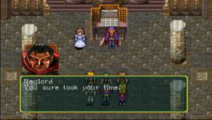 Vampyrgeneralen(!) Neclord är en av spelets tuffare bossar.