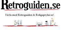 Efter att Retroguiden lyckats klamra sig kvar på internet i hela fem (5!) år så unnar vi oss en tävling tillsammans med Roligaprylar.se.