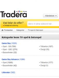 Tradera är en stor säljplattform men det kan vara svårt att få en bred överblick.