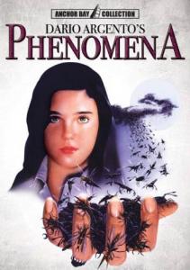 Argentos Phenomena med Jennifer på omslaget.