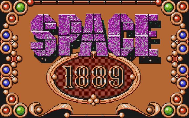 Space 1889 baseras på det populära papper-och-penna-rollspelet med samma namn som hade en liten storhetsperiod vid den här tiden.