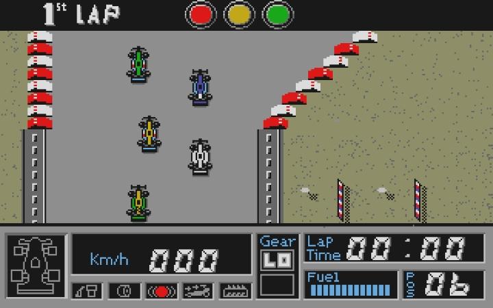Nu har Atari ST-versionen av racingspelet F1 G.P. Circuits grävts fram och bevarats för framtiden.